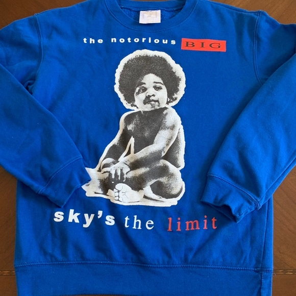 Forever 21 Other - NOTORIOUS BIG CREWNECK SWEATSHIRT